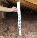 measure insulation depth