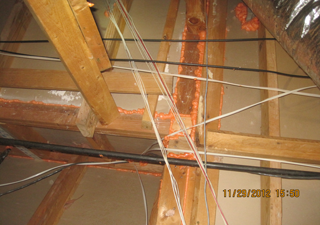 Dallas Attic Floor Air Sealing : Perkins Inc.